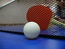 ракетка пингпонга шарика Стоковые Фотографии RF