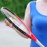 Ракетка тенниса стоковое изображение rf