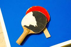 Ракетки тенниса стоковая фотография