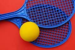 ракетки шарика Стоковое фото RF