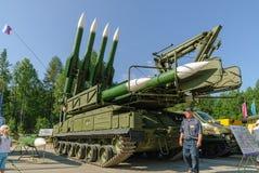 Ракетные комплексы Bouck M2E земл Стоковое фото RF
