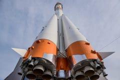 Ракетный двигатель ракеты Soyuz стоковое изображение rf