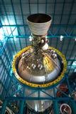 Ракетный двигатель этапа III Сатурна v, центр Кеннеди Стоковое Изображение