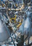 Ракетный двигатель Стоковое Изображение RF