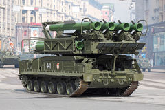 ракетный комплекс buk Стоковая Фотография RF