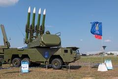 Ракетный комплекс Buk Стоковое фото RF