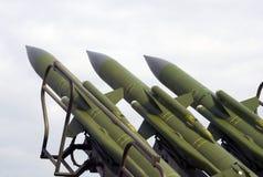 ракетный комплекс kub m Военно-воздушных сил Стоковое Изображение