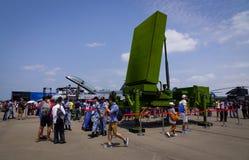 Ракетный комплекс SPYDER земл стоковое изображение rf