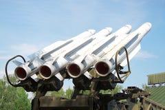 Ракеты противовоздушной обороны стоковое изображение