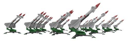 Ракеты иллюстрация штока