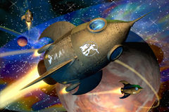 ракеты Стоковое Изображение