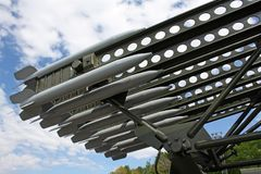 Ракеты Katyusha стоковое изображение