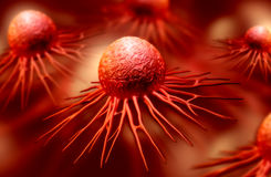 Раковая клетка стоковая фотография