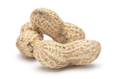 раковина арахиса Стоковое Изображение