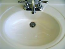 Раковина ванной комнаты Стоковые Фото