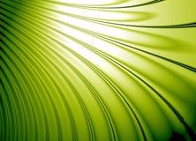 раковина зеленого цвета eco конструкции Стоковые Изображения
