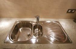 раковина кухни Стоковая Фотография RF