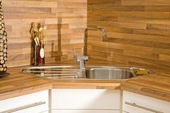 раковина кухни faucet Стоковые Изображения RF