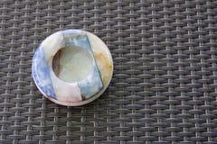раковина ashtray цветастая Стоковое Изображение