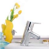 раковина faucet Стоковые Фотографии RF