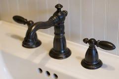 раковина faucet Стоковое Изображение