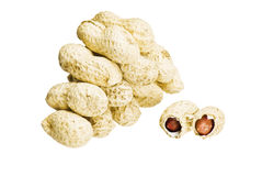 раковины арахисов Стоковое Фото