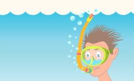 Раковины водолаза акваланга Стоковое Изображение RF