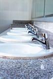 Раковины и faucets Стоковые Изображения