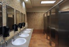 раковины туалета стоковая фотография rf