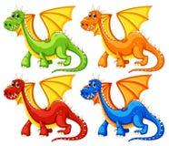 драконы Стоковая Фотография