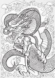 драконы Стоковое Фото
