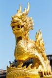 дракон золотистый Стоковая Фотография RF