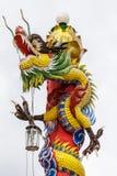 дракон золотистый Стоковое Изображение