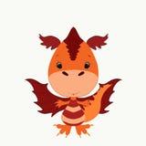 дракон немногая Стоковая Фотография RF