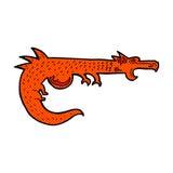 дракон шуточного шаржа средневековый Стоковая Фотография