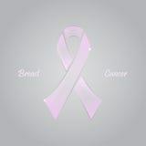 Рак молочной железы значка иллюстрация вектора