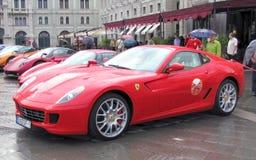 ралли автомобилей международное супер Стоковые Изображения