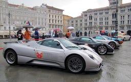 ралли автомобилей международное супер Стоковые Изображения RF