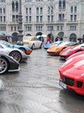 ралли автомобилей международное супер Стоковая Фотография