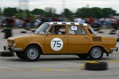 ралли автомобиля старое Стоковая Фотография
