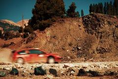ралли автомобиля Стоковые Фотографии RF