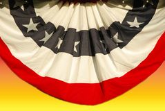 ралли вентилятора политическое стоковая фотография