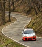 ралли гонки автомобиля Стоковое Фото