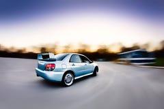 ралли гонки автомобиля стоковые изображения