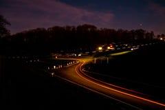 Ралли ночи стоковое изображение