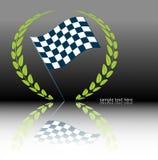 ралли флага Стоковые Изображения RF