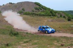 ралли 2011 erc bosphorus Стоковое фото RF