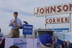 Ралли Mitt Romney Паыля Davis Райан Стоковая Фотография
