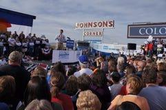 Ралли Mitt Romney Паыля Davis Райан Стоковые Фото