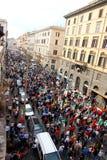 ралли rome pd Демократической партии Стоковое Изображение RF